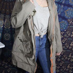 Tan coat/jacket